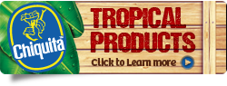 Chiquita™ Tropical Vegetables and Fruit Pulps - by Quirch Foods®