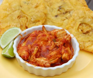 Tostones-with-Crab-in-Red-Sauce